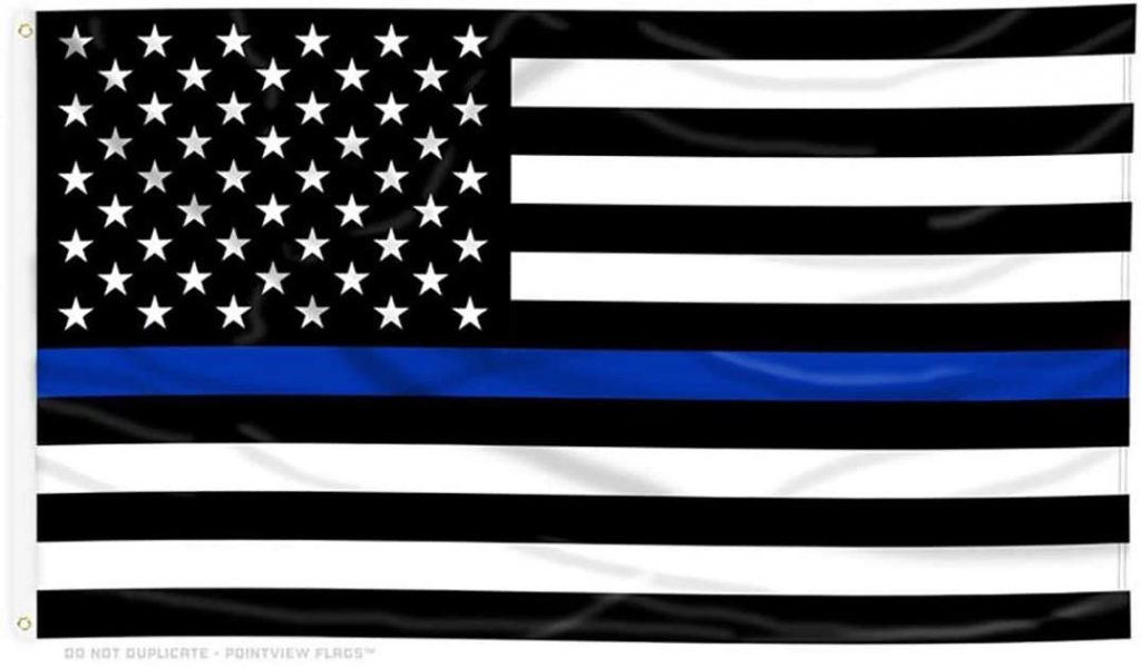 "The ""Thin Blue Line"" Is Blue"